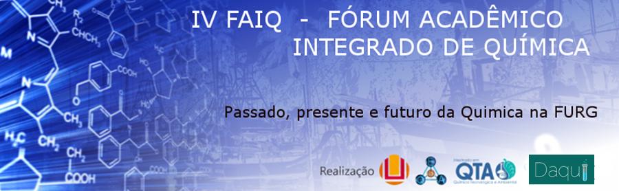 3º Fórum Acadêmico Integrado de Química da FURG